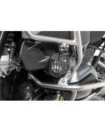 """Protection de phare pour phare supplémentaire brouillard BMW DEL originale """"Nano"""", kit, noir (08/2017-) *OFFROAD USE ONLY*"""