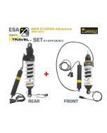KIT de suspension Plug & Travel-ESA Touratech pour BMW R1200GS Adventure, modèles 2007-2010