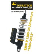 Touratech Suspension ressort-amortisseur *avant* pour BMW R1200GS Adventure 2006-2013 type *Extreme*