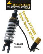 Touratech Suspension ressort-amortisseur *arrière* pour Yamaha XT1200Z Super Tenere (2010-2013) de type *Level2*