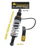 Touratech Suspension ressort-amortisseur *arrière* pour BMW F800GS ADV á partir de 2013 de type *Level2*