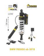Touratech Suspension Ressort-amortisseur abaissement -25mm pour BMW F850GS à partir de 2018 DDA / Plug & Travel