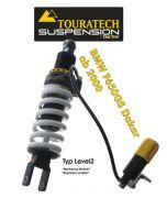 Touratech Suspension ressort-amortisseur pour BMW F650GS DAKAR à partir de 2000 de type Level2/ExploreHP