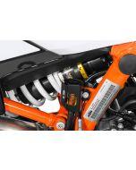 Protection pour réservoir de liquide, de frein arrière, noir pour KTM 890 Adventure/ 890 Adventure R/ 790 Adventure / Adventure R/ 1290 Super Adventure (2021-)