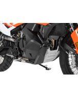 Arceau de protection du réservoir en acier inoxydable, noir pour KTM 790 Adventure/ 790 Adventure R