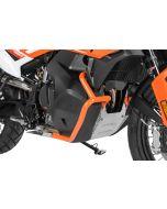 Arceau de protection du réservoir en acier inoxydable, orange pour KTM 790 Adventure/ 790 Adventure R