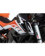 Arceau de protection du carénage en acier inoxydable, noir pour KTM 890 Adventure/ 890 Adventure R/ 790 Adventure/ 790 Adventure R