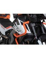 Arceau de protection du carénage en acier inoxydable, orange pour KTM 890 Adventure/ 890 Adventure R/ 790 Adventure/ 790 Adventure R