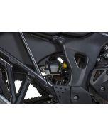 Protection pour réservoir de liquide, de frein arrière, noir pour Honda CRF1000L Africa Twin (2018-)/ CRF1000L Adventure Sports