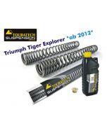 Ressorts de fourche progressifs, Triumph Tiger Explorer *à partir de 2012*