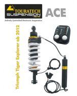 Ressort-amortisseur de Touratech Suspension ACE pour Triumph Explorer partir de 2012 Type Expedition