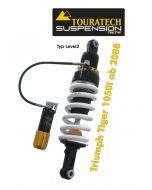 Touratech Suspension ressort-amortisseur pour Triumph Tiger 1050i á partir de 2008 de type Level2/ExplorHP
