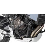 Arceau de protection moteur inox noir pour Yamaha Tenere 700