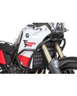 Arceau de protection du carénage en acier inoxydable, noir pour Yamaha Tenere 700