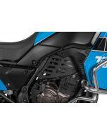 Couvercle du moteur (kit), noir pour Yamaha Tenere 700
