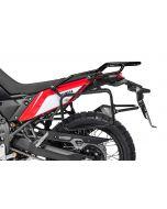 Porte-bagages en acier inoxydable, noir pour Yamaha Tenere 700