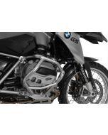 Protection de cylindres alu nature pour BMW R1200GS à partir de 2013/ BMW R1200RT à partir de 2014/ BMW R1200R à partir de 2015/ BMW R1200RS