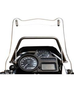 Adapteur pour montage GPS sur barre  transversale de guidon BMW R 1200 GS  au dessus des instruments de bord Adapteur pour montage GPS Support pour systèmes de navigation