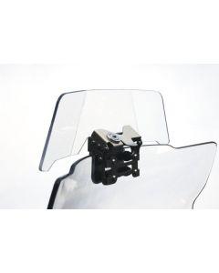 Spoiler pour bulle de carénage BMW R 1200 GS Adventure jusqu'a 2013 à clé