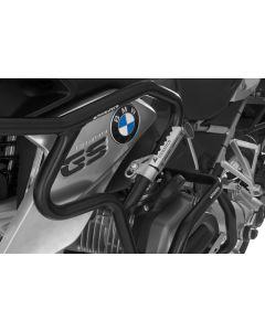 Repose-pieds Highway pegs pour tubes avec un diamètre de 25mm, Par exemple, pour BMW R1200GS à partir de 2013,Triumph Tiger Explorer, KTM LC8