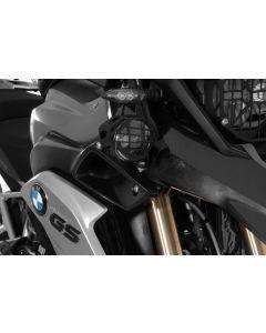 Jeu de phares supplémentaires à DEL antibrouillard droite/feu de route gauche noir pour BMW R1200GS à partir de 2013
