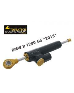 Amortisseur de direction Touratech Suspension *CSC* pour BMW R1200GS (LC) modèle 2013 +kit de montage inclus+