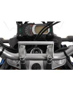 Adaptateur GPS  pour Yamaha XT1200Z Super Tenere jusqu'a 2013 Adapteur pour montage GPS Support pour systèmes de navigation