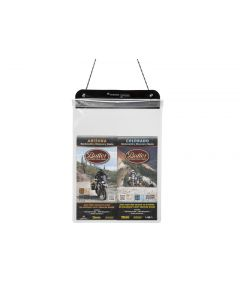 Porte-documents, taille L, DIN-A4, transparent, by Touratech Waterproof made by ORTLIEB