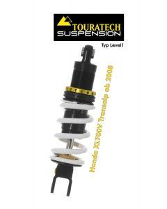 Ressort-amortisseur de suspension Touratech pour HONDA XRV750 Africa Twin RD07 á partir de 2008 Type Level1