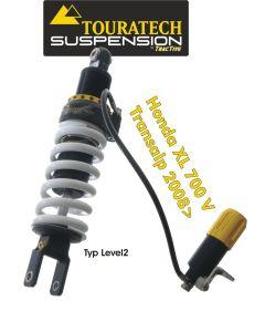 Touratech Suspension ressort-amortisseur pour Honda XL700V Transalp á partir de 2008 de type Level2/ExploreHP