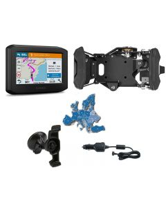 Garmin zumo 396 LMT-S EU Bike & Car Set, noir