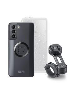 Set de support pour téléphone portable Samsung S21, SP Connect Moto Bundle