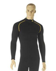 """Maillot long """" Touratech Primero Alpine """" homme, noir, taille XL"""
