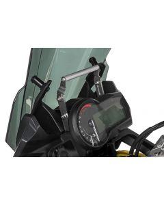 Adapteur pour montage GPS au dessus des instruments de bord, réglable en hauteur, pour BMW F850GS/ F850GS Adventure/ F750GS, Adapteur pour montage GPS Support pour systèmes de navigation