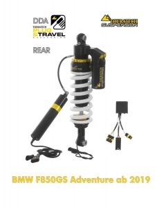 Ressort-amortisseur de suspension Touratech pour BMW F850GS Adventure à partir de 2019 DDA/Plug & Travel