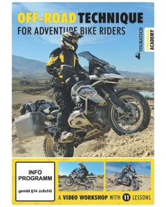 """Video DVD """"Off-road technique for adventure bike riders"""" (anglaise)"""