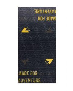 "Bande de tissu multifonctionnelle ""Essential"", noir/jaune"