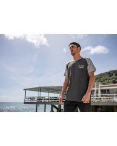 """T-Shirt """"ADV Machine"""" pour homme, gris"""
