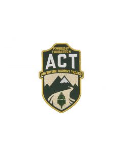 Insigne brodé à coudre avec le logo ACT