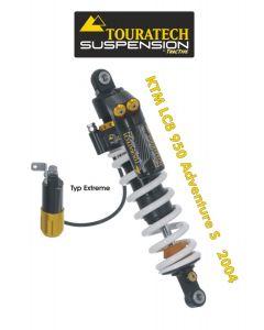 Ressort-amortisseur de suspension Touratech *arrière* pour KTM LC8 950 Adventure S (2004-2005) type *Extreme*