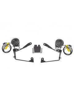 Jeu de phares supplémentaires à DEL antibrouillard droite/feu de route gauche pour Honda CRF1000L Africa Twin / CRF1000L Adventure Sports