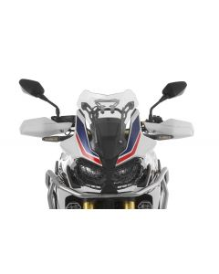 Bulle, S, transparent, pour Honda CRF1000L Africa Twin/ CRF1000L Adventure Sports