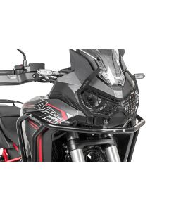 "Protection de phare noire à attache rapide pour Honda CRF1100L Africa Twin ""OFFROAD USE ONLY"""