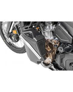 Boîte à outils avec arceau de protection moteur - Kit de mise à niveau - gauche, inox pour Honda CRF1100L Africa Twin/ CRF1100L Adventure Sports