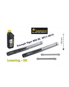 Abaissement de 30mm Triumph Tiger 800 2011 - 2014 *ressort de rechange pour levier de renvoi*