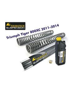 Ressorts de fourche progressifs, Triumph Tiger 800XC *à partir de 2011*
