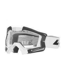 Masque Touratech Aventuro Carbon avec bandeau Touratech, blanc