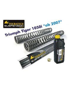 Ressorts de fourche progressifs, Triumph Tiger 1050i *à partir de 2007*