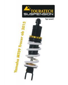 Ressort-amortisseur Touratech Suspension pour la Yamaha MT 09 Tracer à partir de 2015 Type Level1/Explore