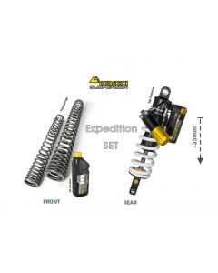 Touratech Suspension WTE abaissant -35mm Type Expedition pour Yamaha 700 Tenere à partir de 2019
